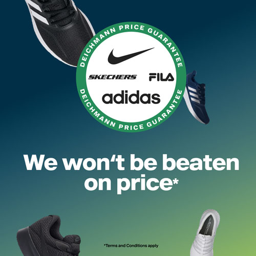 Deichmann Price Guarantee
