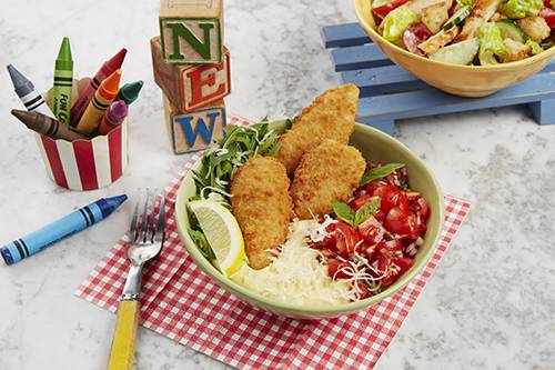 Kids Chicken Milanese meal from Bella Italia