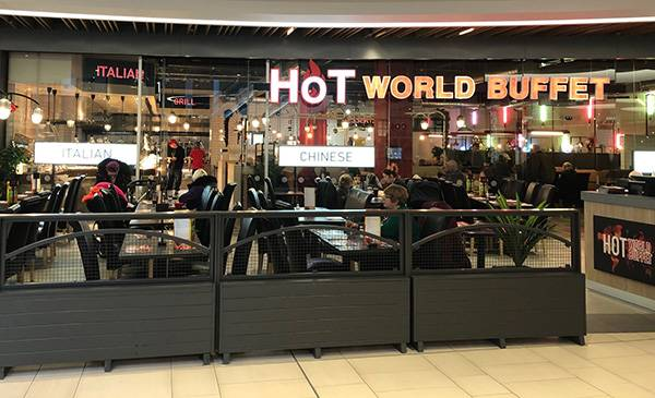 Hot World Buffet restaurant