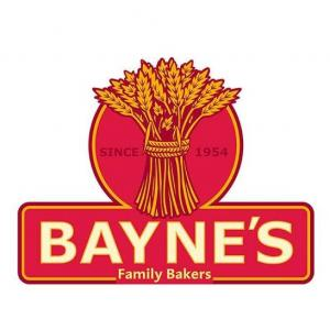 Bayne's The Bakers logo