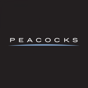 Peacocks logo